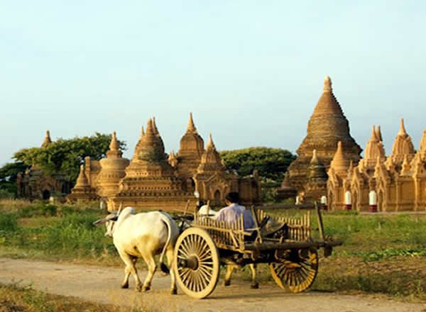 Mandalay Cycling to Bagan  (2 Days)